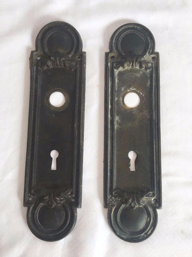 decorative door knob plates photo - 14