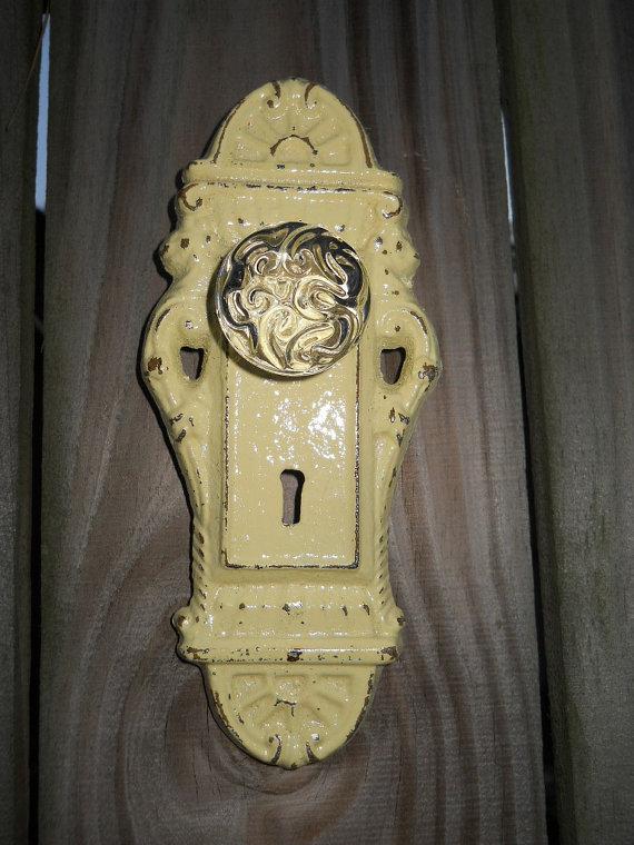 decorative door knob plates photo - 15