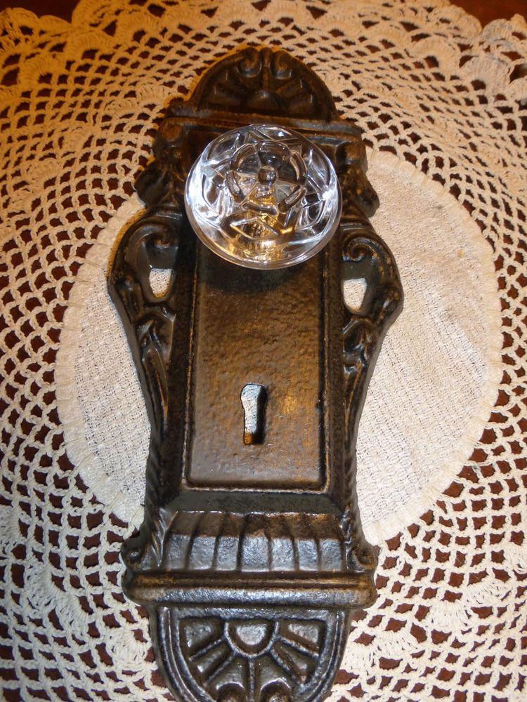 decorative door knob plates photo - 18