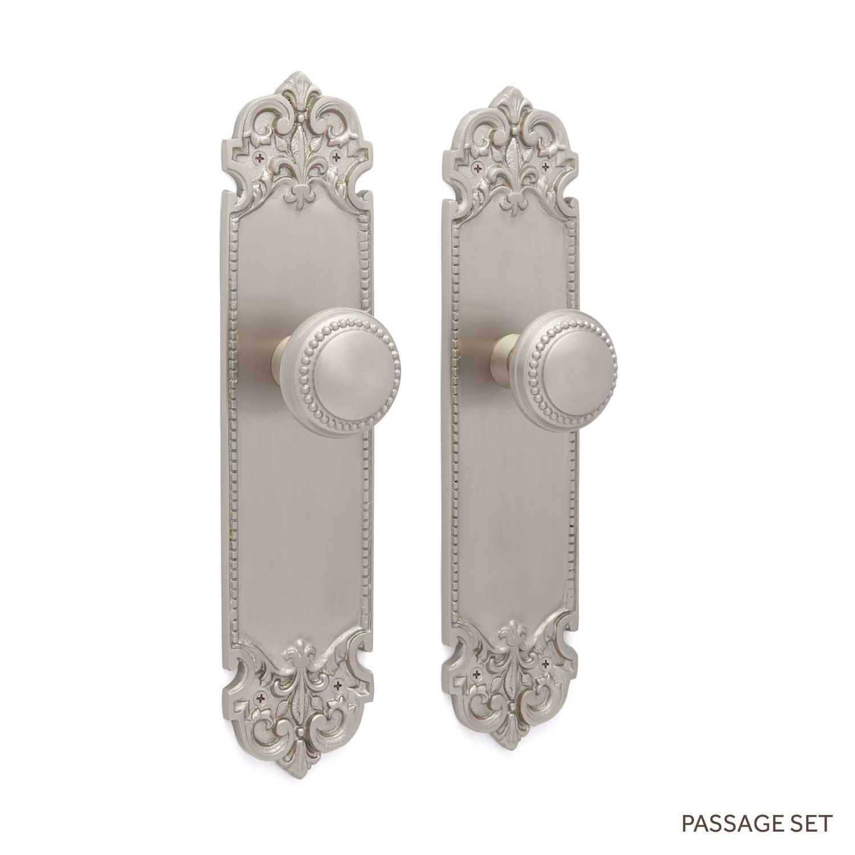 decorative door knob plates photo - 5