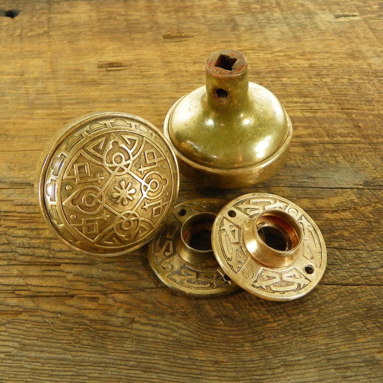 decorative door knob plates photo - 7