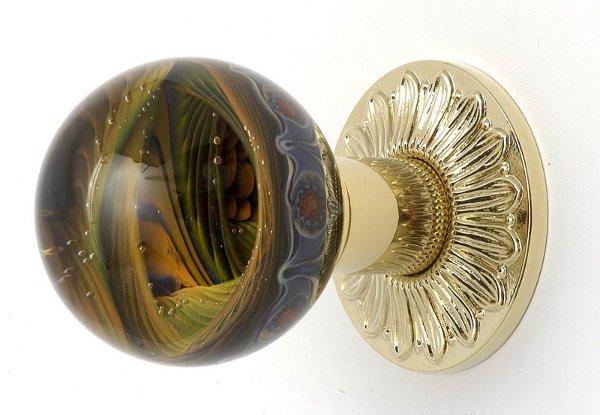 decorative glass door knobs photo - 16