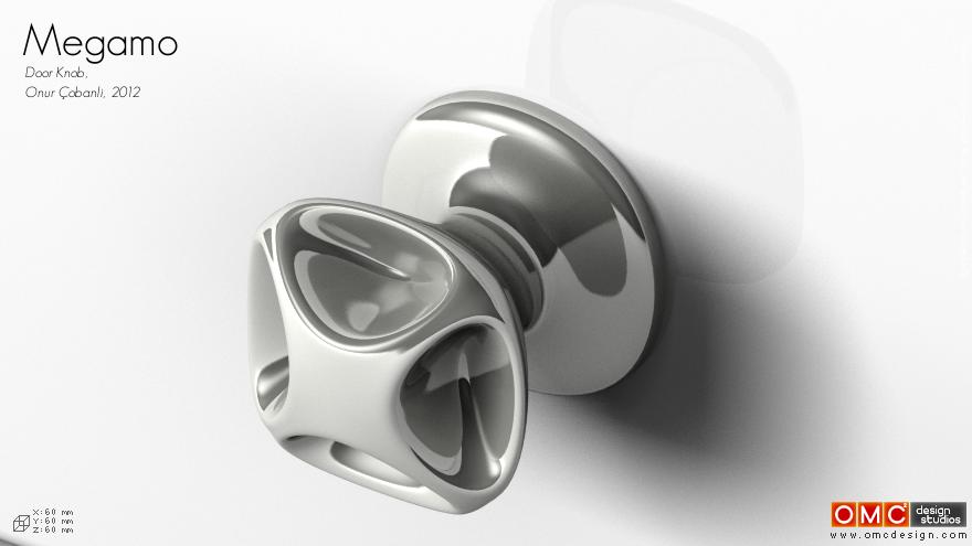 designer door knob photo - 8
