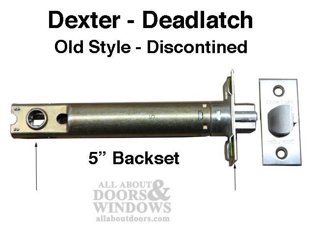 dexter door knob removal photo - 17