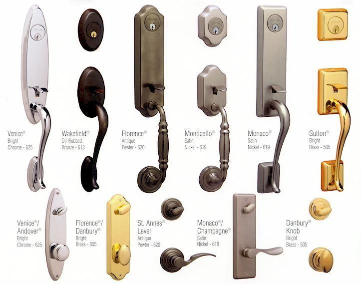 different kinds of door knobs photo - 3