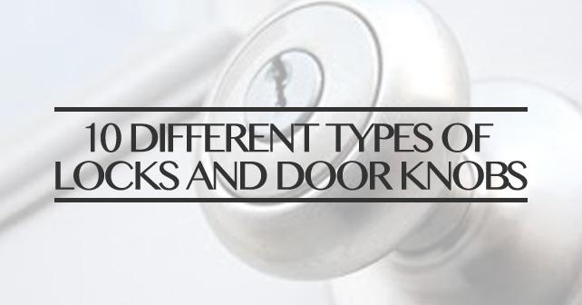 different types of door knobs photo - 12