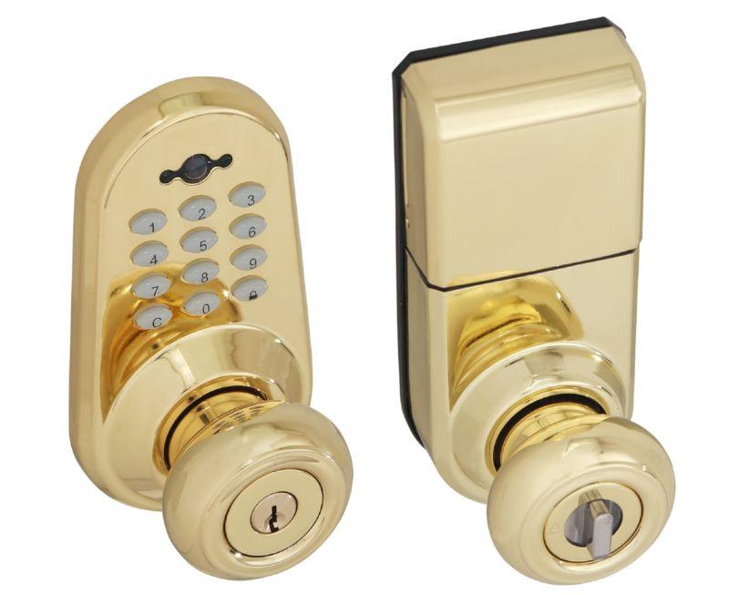 digital door knob photo - 11