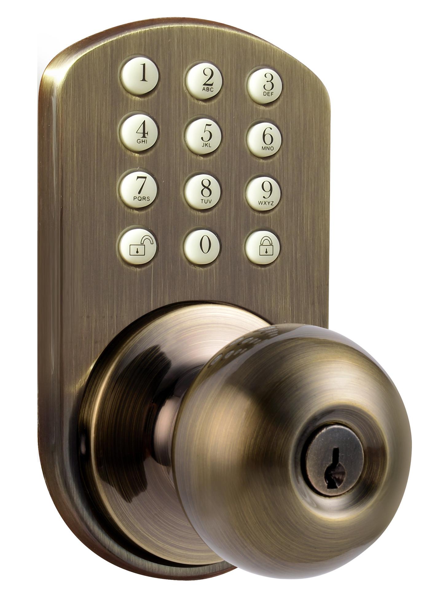 digital door knob photo - 14