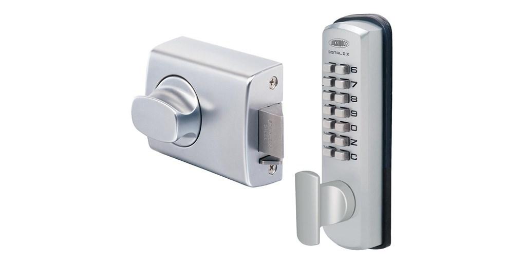digital door knob photo - 9