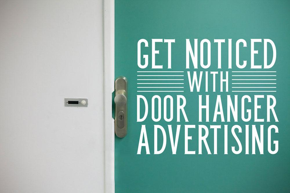 door knob advertising photo - 11