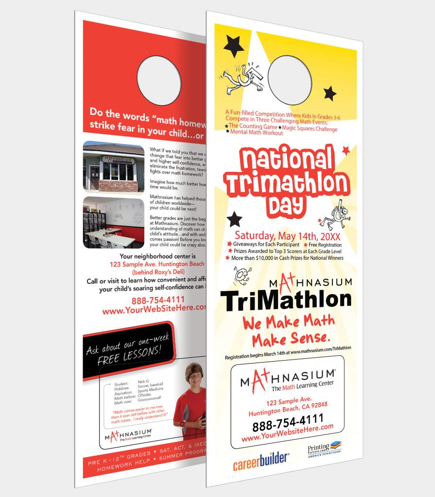 door knob advertising photo - 5