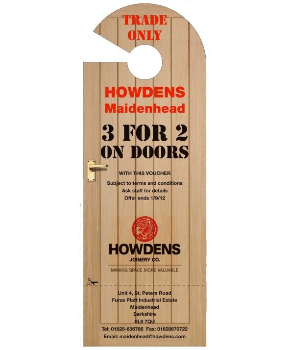 door knob advertising hangers photo - 7