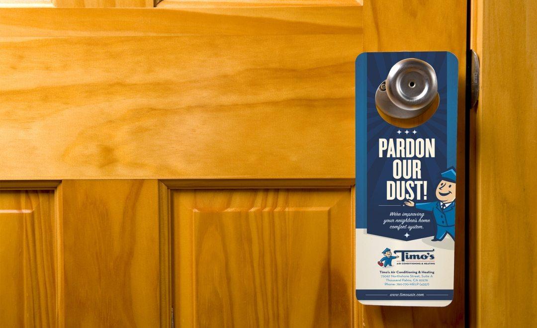door knob advertising hangers photo - 8