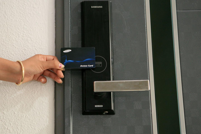 door knob alarm system photo - 20