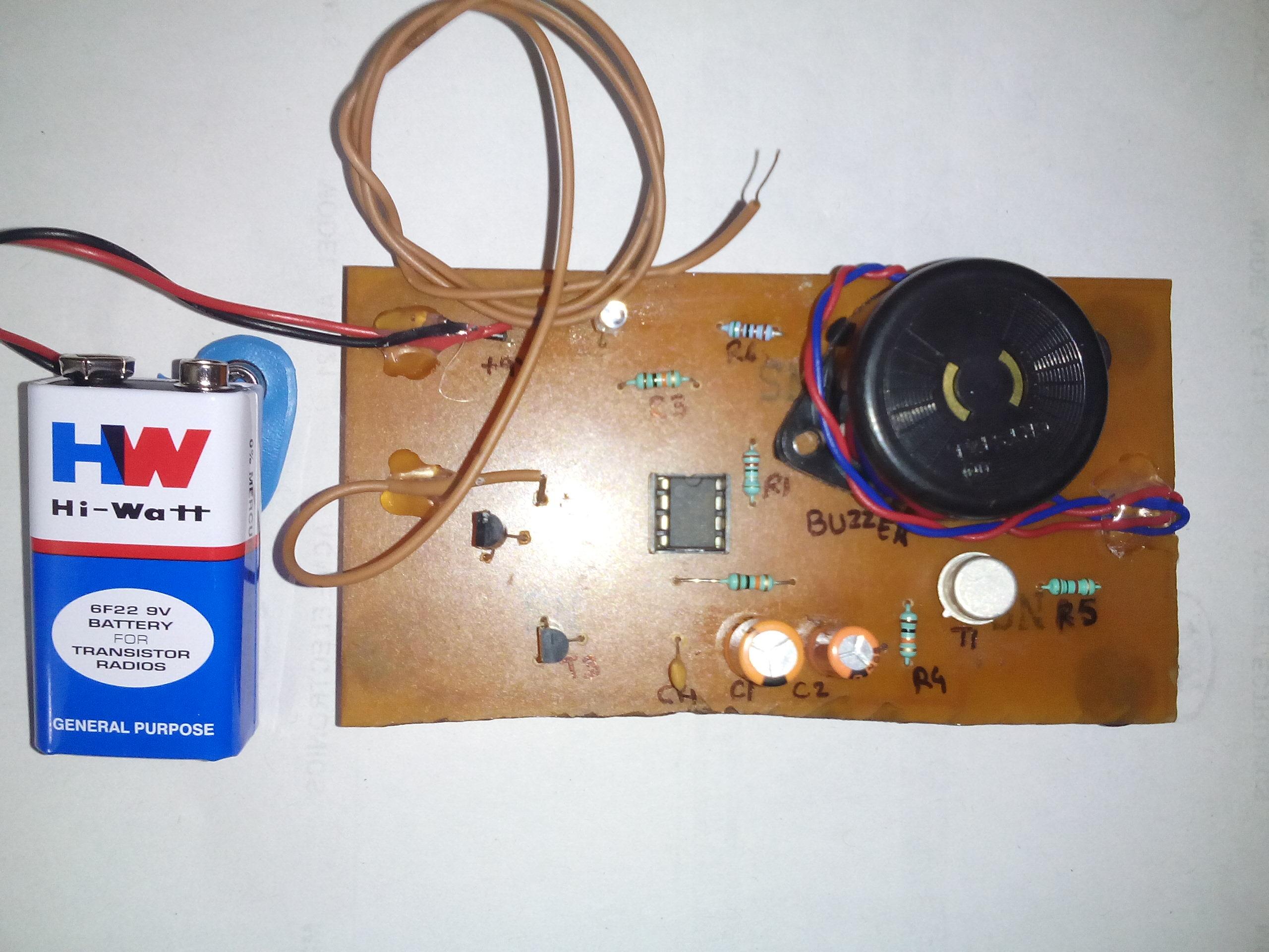 door knob alarm system photo - 6
