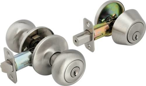 door knob and deadbolt set photo - 17