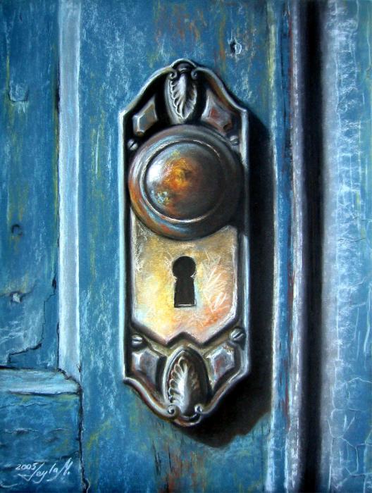 door knob art photo - 2