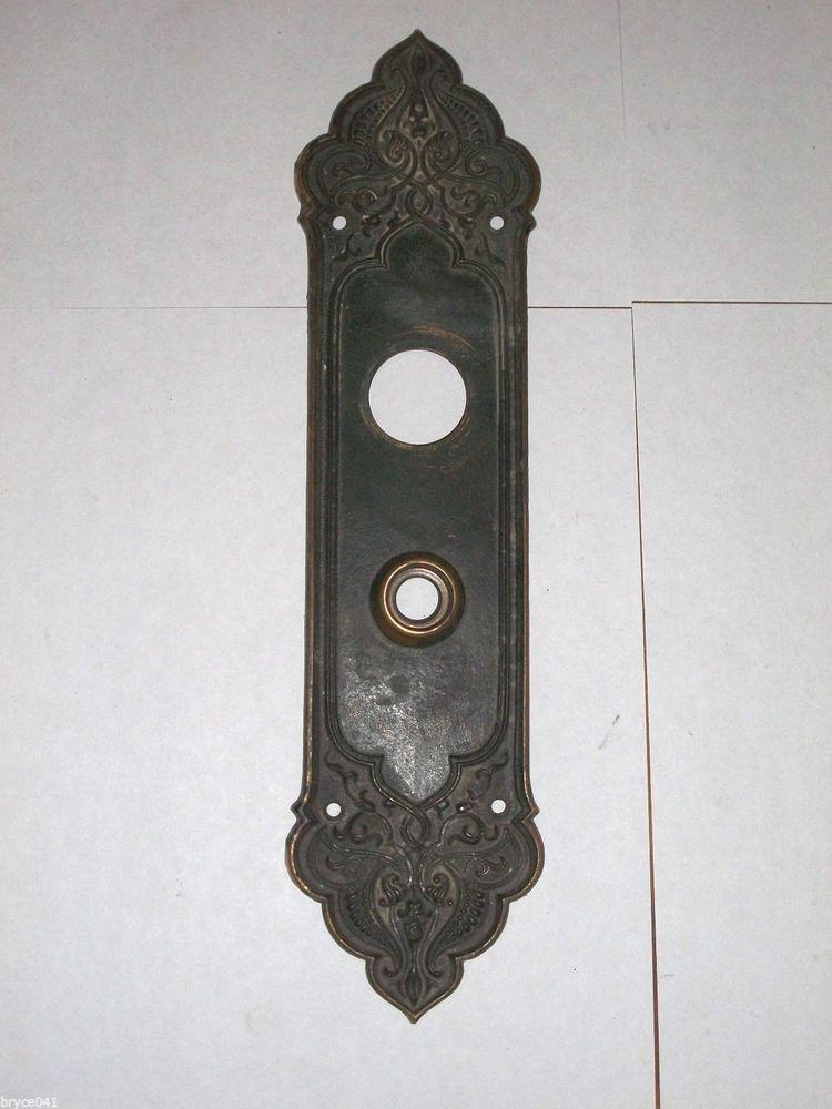 door knob backplates photo - 18