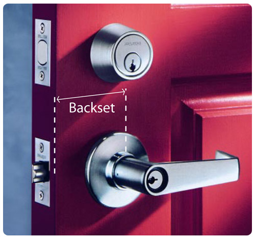 door knob backset photo - 7