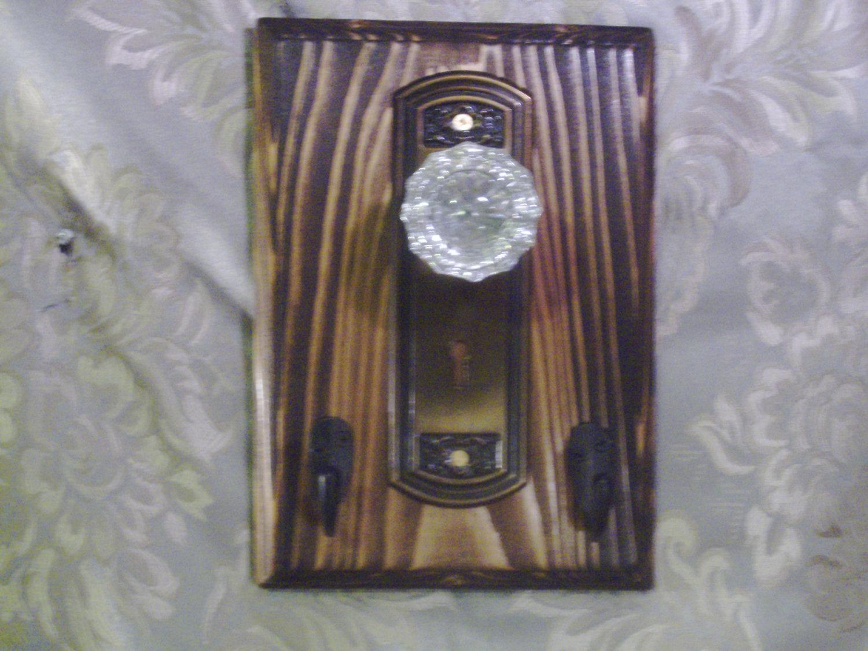 door knob coat rack photo - 5