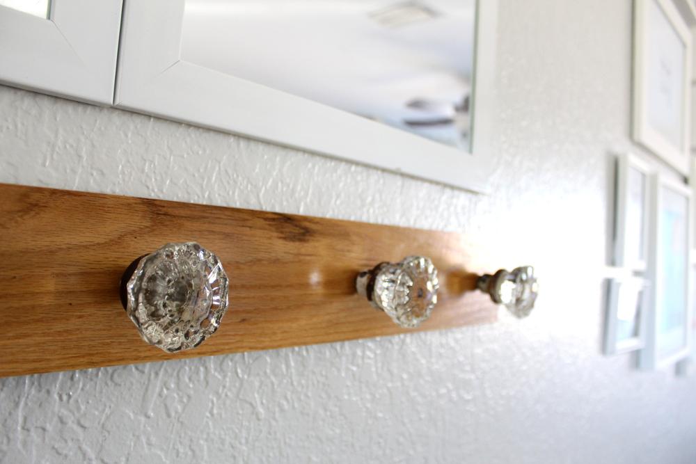 door knob coat rack photo - 7