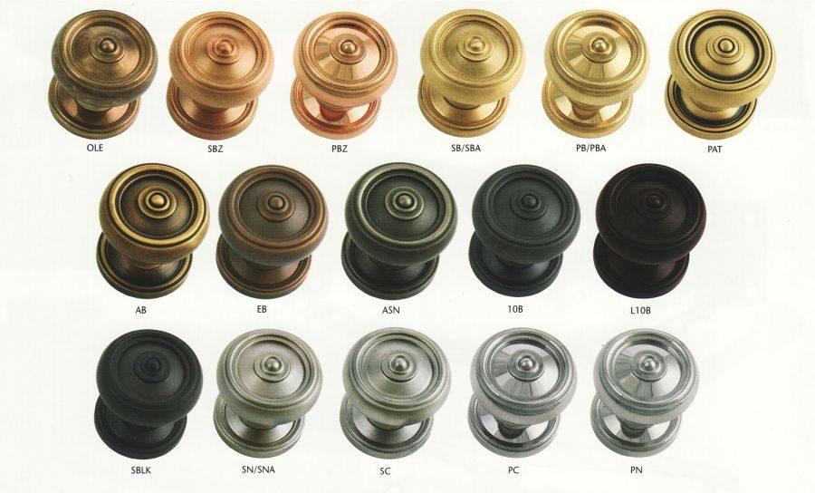 door knob colors photo - 1