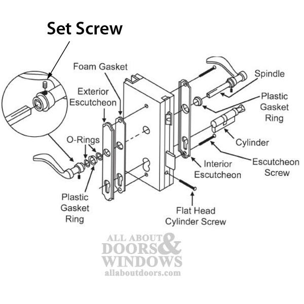 door knob components photo - 20