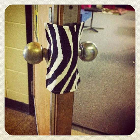 door knob cover lock photo - 13