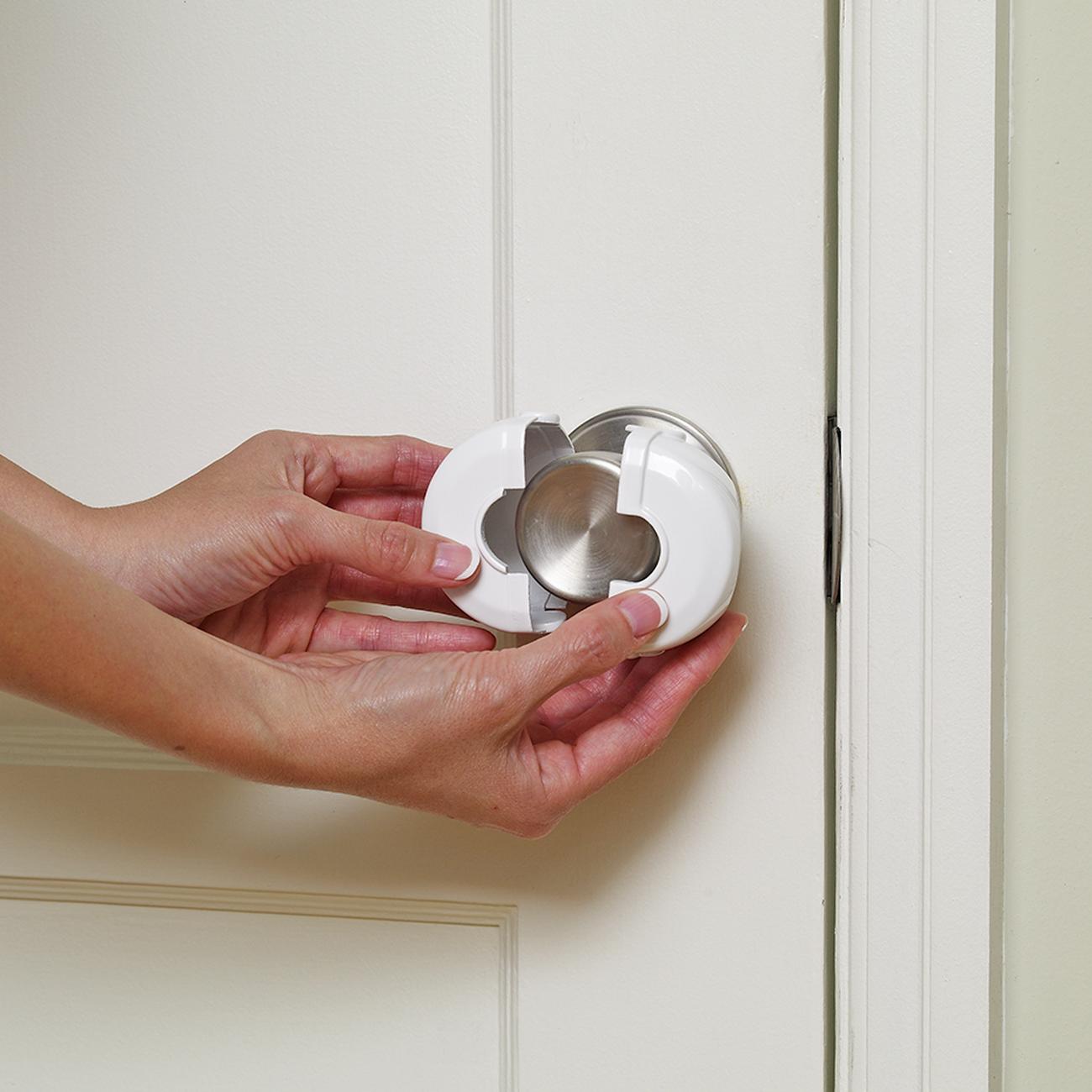 door knob cover lock photo - 4