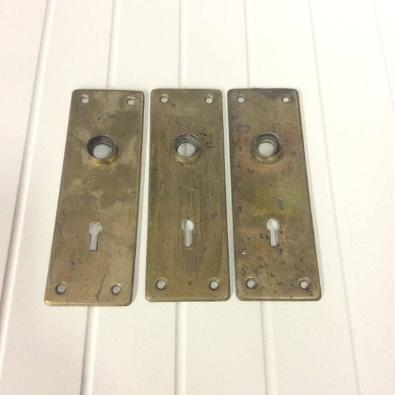 door knob cover plate photo - 13