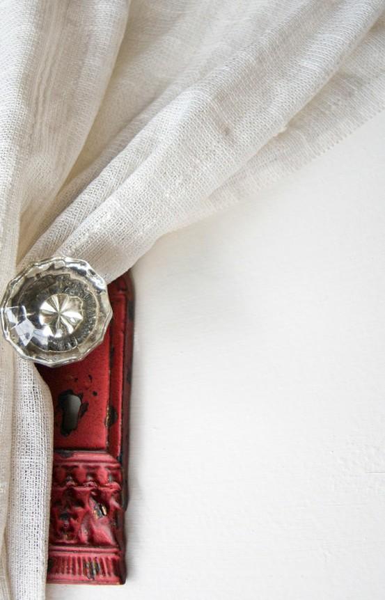 door knob curtain holdbacks photo - 16