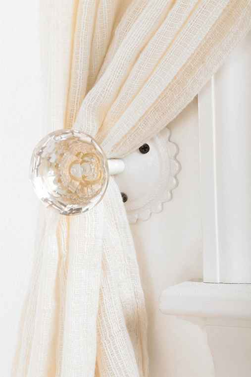 door knob curtain tie back photo - 7