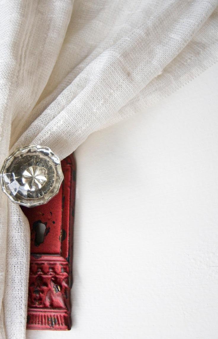 door knob curtain tie backs photo - 10