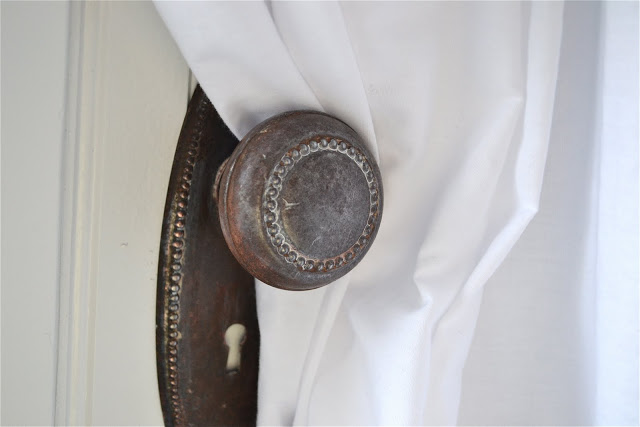 door knob curtain tie backs photo - 20