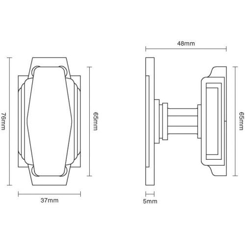 door knob dimensions photo - 19