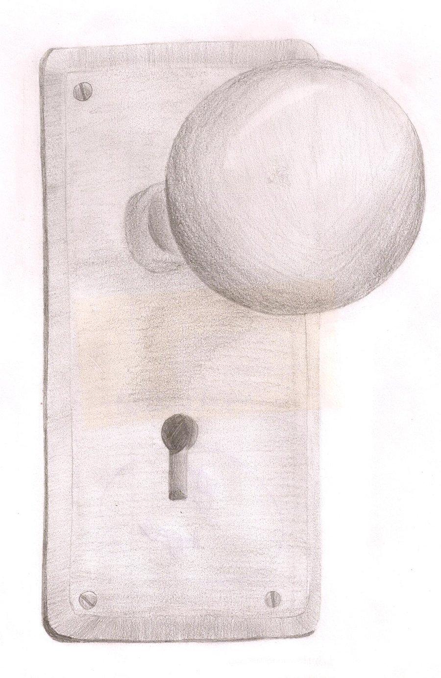 door knob girl photo - 11