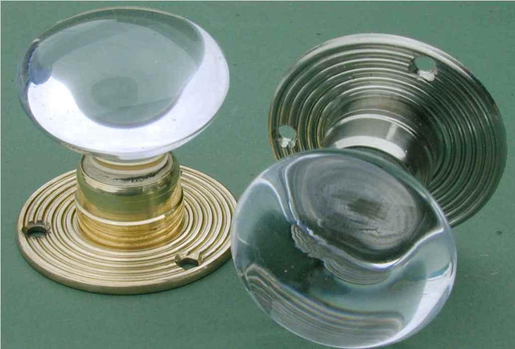 door knob glass photo - 10