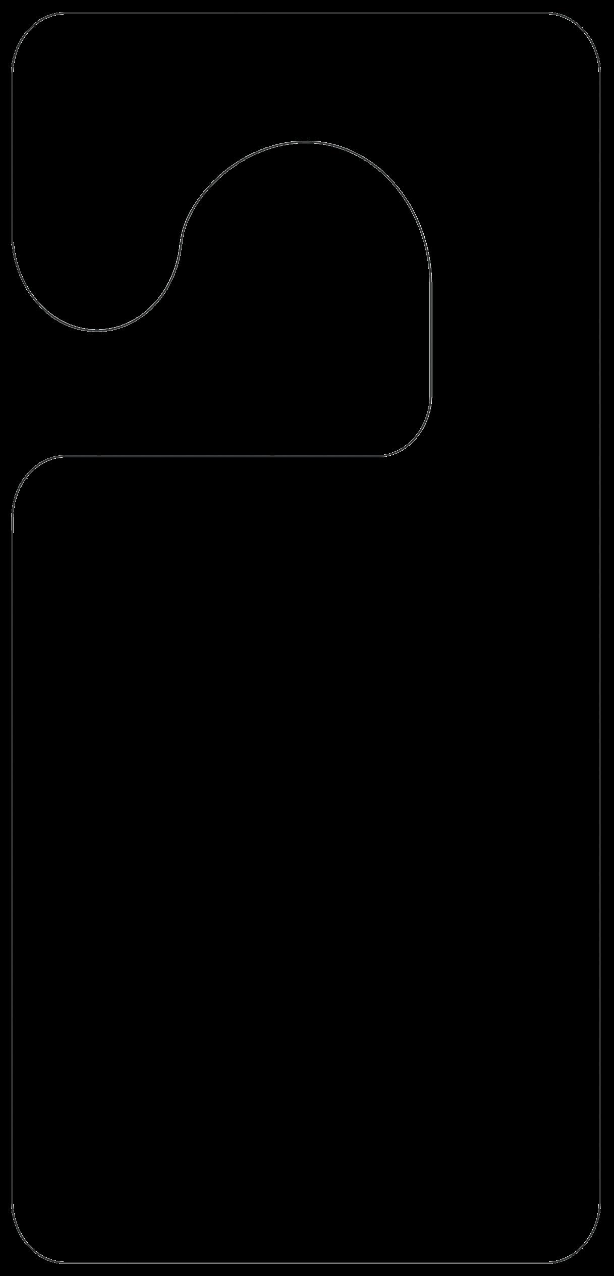 door knob hanger template photo - 8
