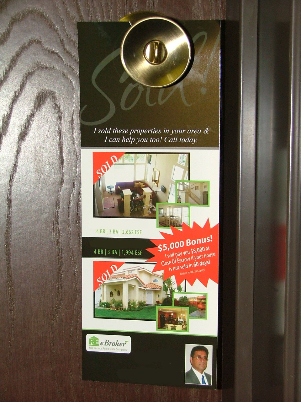 door knob hangers printing photo - 12