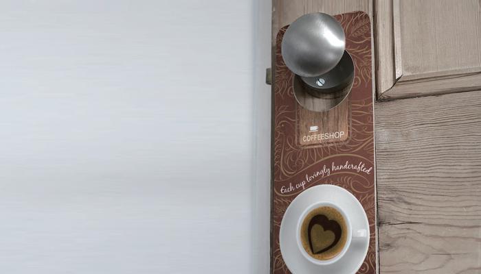 door knob hangers printing photo - 3