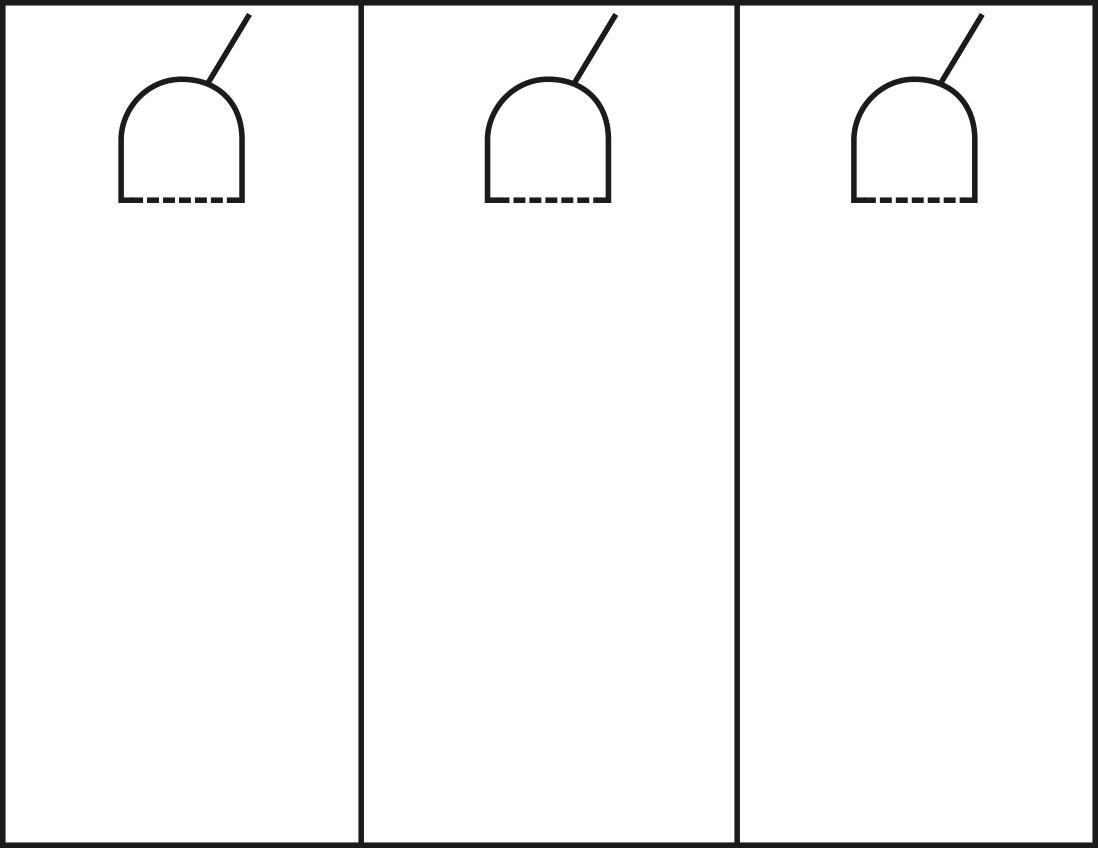 door knob hangers template photo - 10