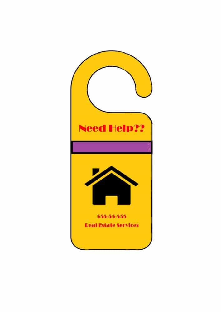 door knob hangers template photo - 20