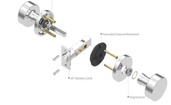 door knob hardware parts photo - 19
