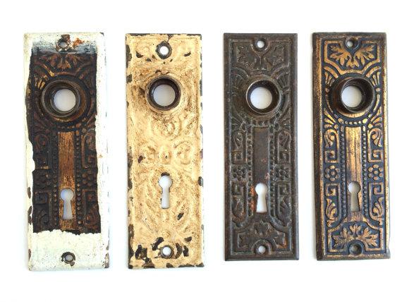 door knob hole covers photo - 10