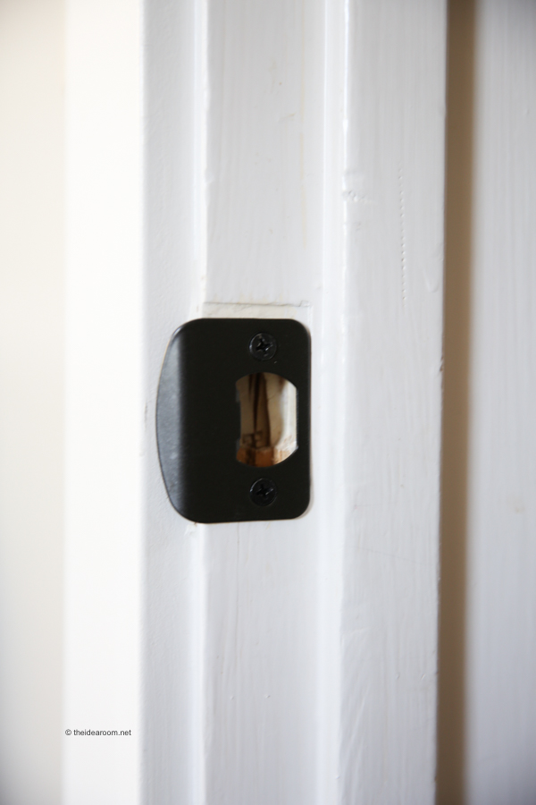 door knob install photo - 15