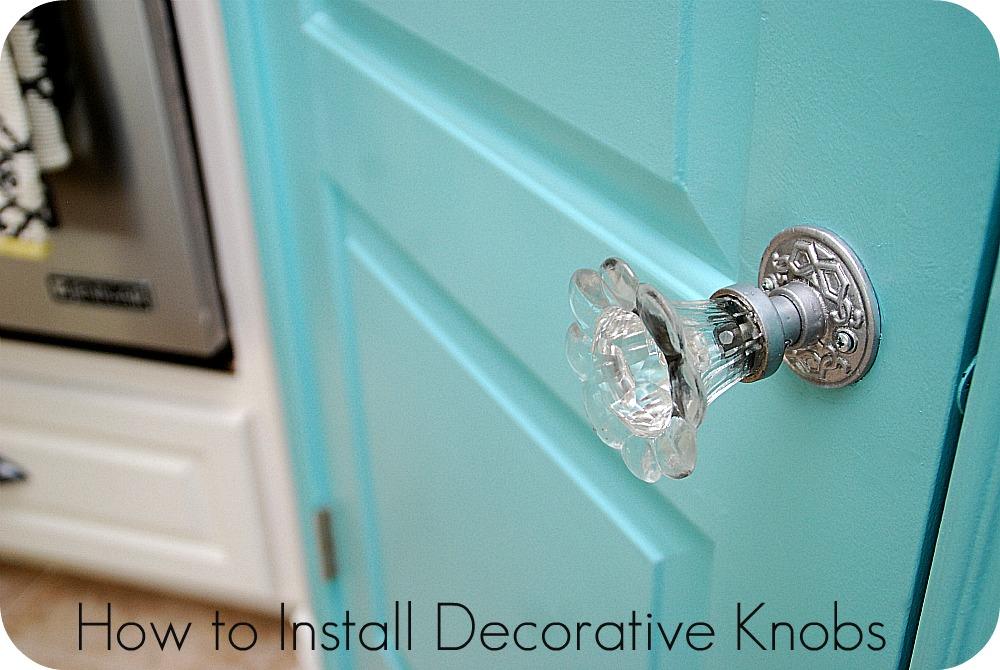 door knob install photo - 18