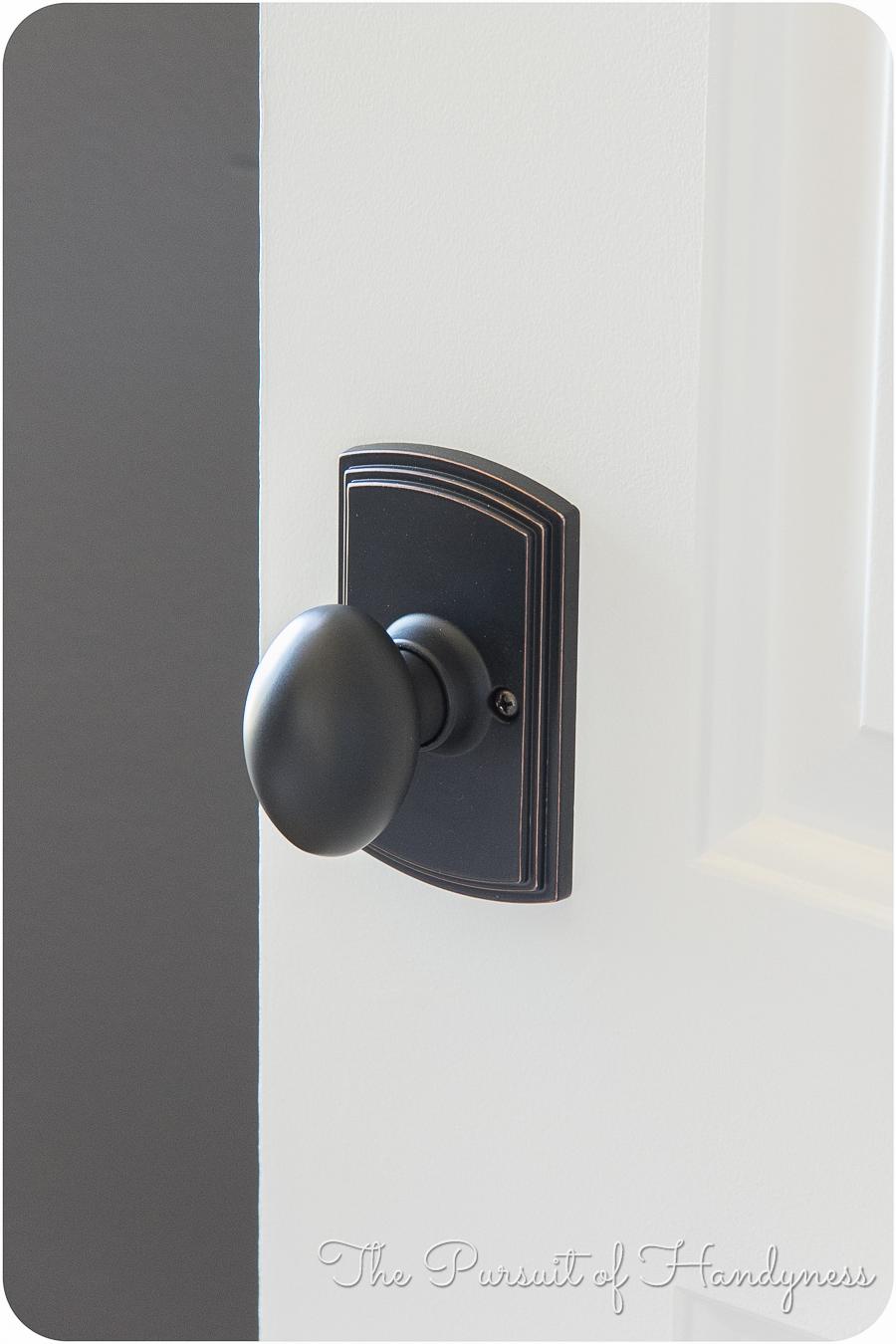 door knob install photo - 20