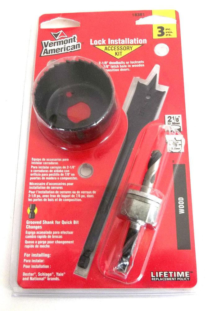 door knob installation kit photo - 16