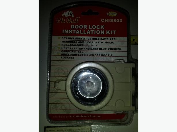 door knob installation kit photo - 19