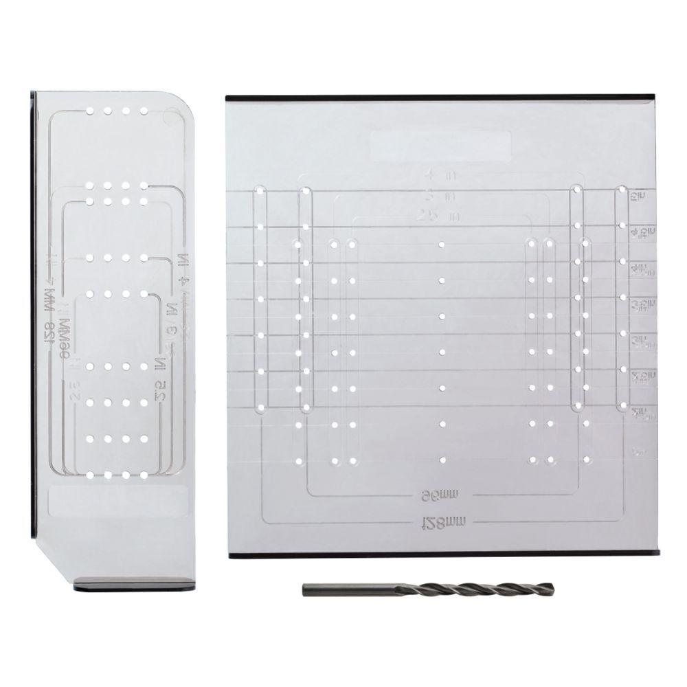 door knob installation template photo - 16
